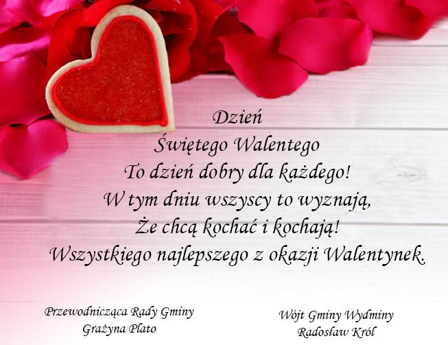 życzenia Walentynkowe: Zyczenia